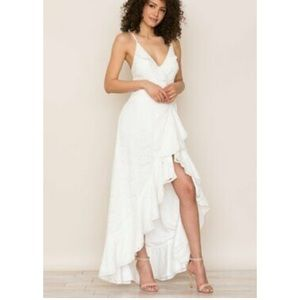 Yumi Kim NWT Meadow Lace Maxi Dress White